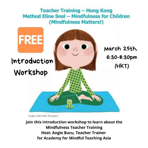 Introduction Workshop – Mindfulness for Children Teacher Training